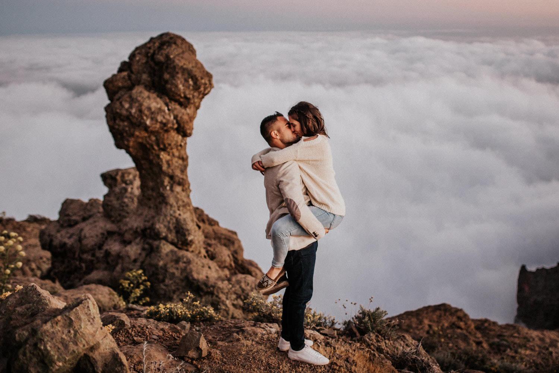 pre boda roque nublo